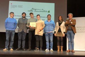 Premi Participació Programa de Centres Ecoambientals del curs 2017/2018