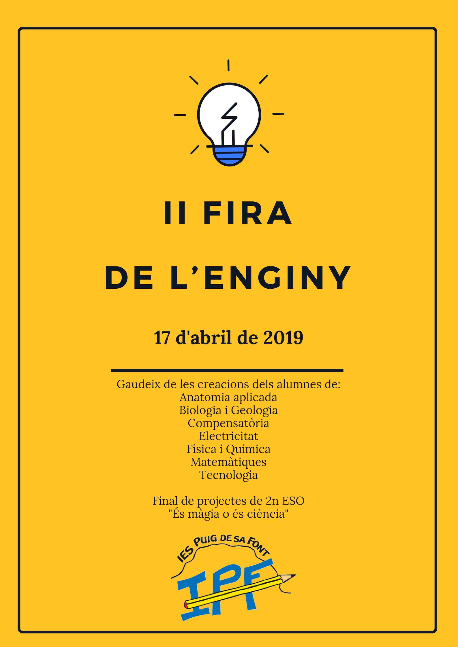 II FIRA DE L'ENGINY
