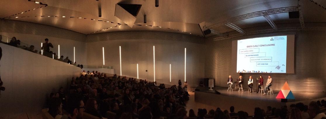 L'IES PUIG DE SA FONT al I Congrés d'Innovació Educativa IB Auditiorio