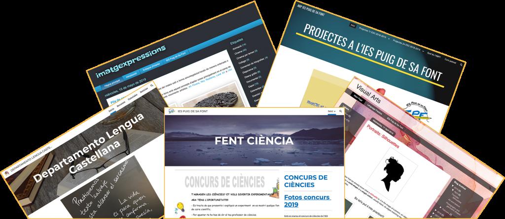 Sites IES Puig de Sa Font en Google Sites